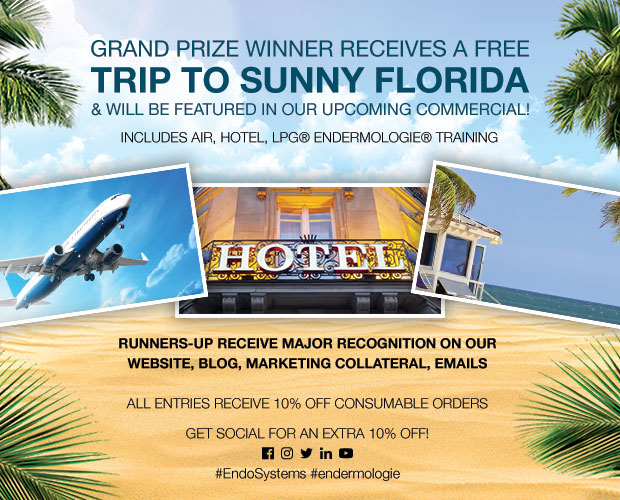Winners receive a trip to sunny Florida!